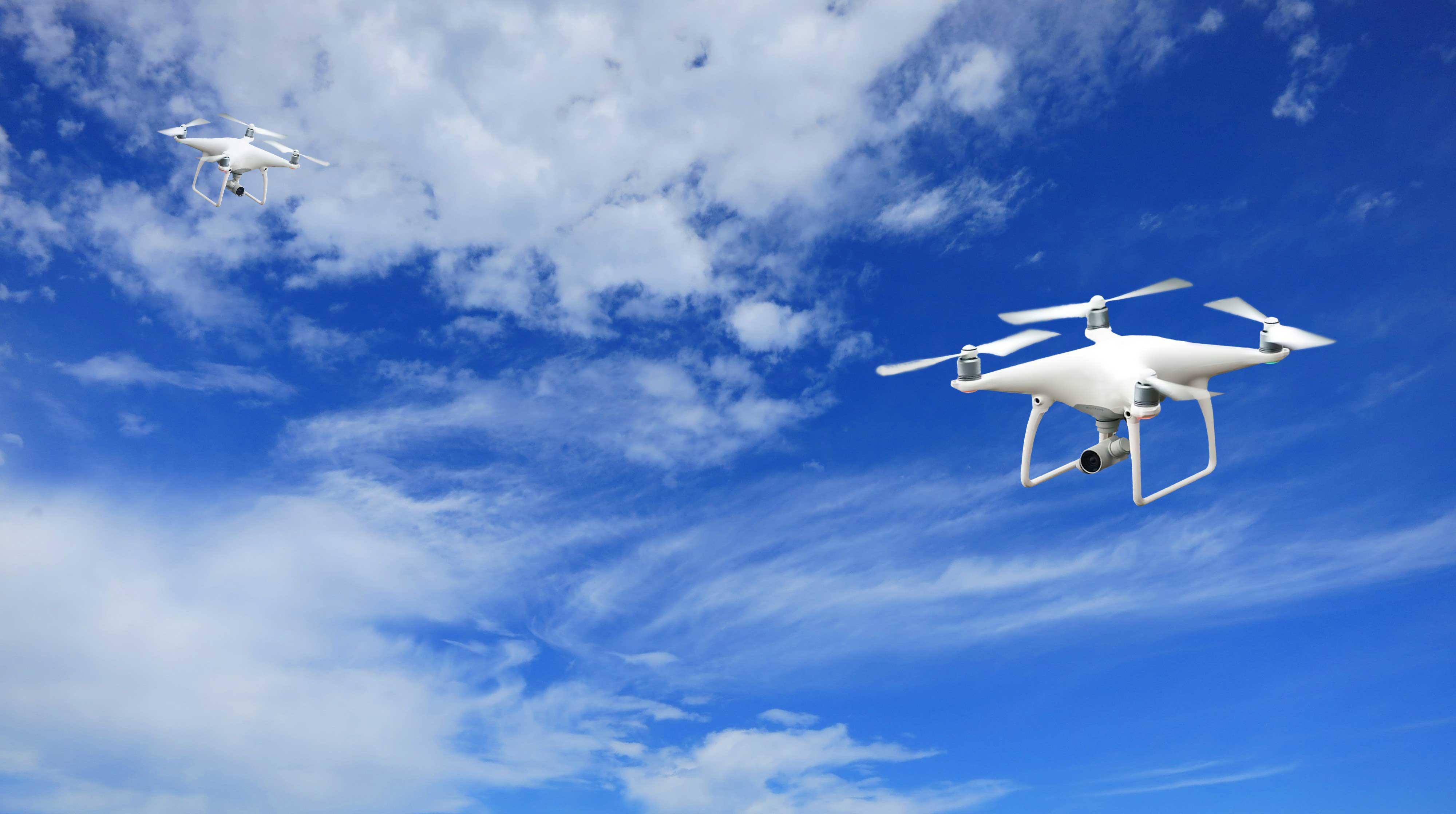 white-drone